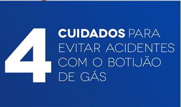4 cuidados para evitar acidentes com o botijão de gás